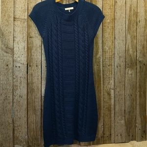 Trina Turk cable knit sweater dress Petite